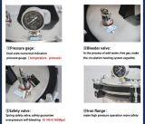 Autoclave a vapore portatile di pressione con rapidamente aperto