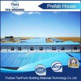 Pequeña casa modular de bajo costo adecuado para el Gobierno prefabricados House Project