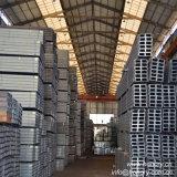 Viga del canal U Steel/U de JIS de la fábrica del perfil
