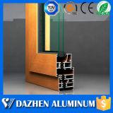 Штрангя-прессовани двери окна порошка ODM OEM профиля Coated алюминиевого алюминиевый