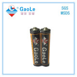 Carbone-zinc de la batterie AAA R03 Um4 Photo de véritables produits