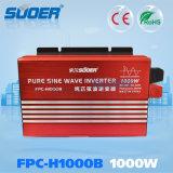 Suoer 24V 230V 1000W onda senoidal pura Inversor de Energia (H FPC1000B)