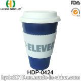 450ml BPA geben Bambusfaser-Kaffeetasse frei (HDP-0421)
