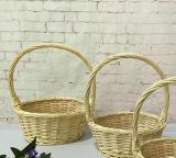 Almacenamiento de mimbre artesanal con la cesta Ecológica (BC-ST1202)