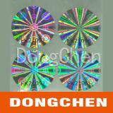Autoadesivi olografici dell'ologramma superiore 3D