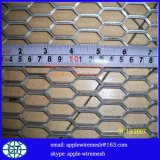 간격 0.4mm 에 4mm에 있는 확장된 강철 플레이트