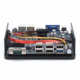 PC da fuga J1900 Fanless do louro mini com processador central de Celeron (2COM*Ports)