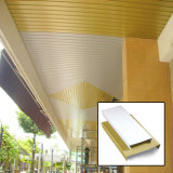 Подгонянный оптовой продажей квадратный пожаробезопасный алюминиевый декоративный потолок прокладки