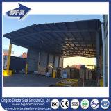 Costruzione prefabbricata del magazzino della struttura d'acciaio del blocco per grafici del metallo di iso