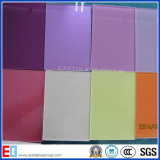 Pintado azul de cristal / de cristal pintado en color / Color Azul pantalla de seda de vidrio Paitnting