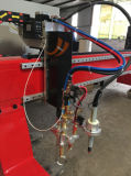 Tipo elevado máquina do pórtico de Qualilty de estaca da flama do plasma do CNC
