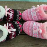 Tricotado mulheres Piscina Chinelos Fashion Senhoras Sapata Quente