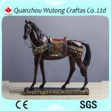 ホーム装飾のためのヨーロッパ式のローマの樹脂の馬の彫刻