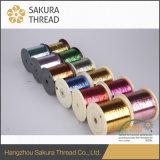 Filato metallico di nylon multicolore per il vestito da cerimonia nuziale