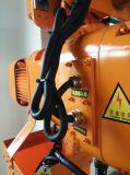 منخفضة ارتفاع سقف مرفاع 2 طن مع كلا كهربائيّة وحامل متحرّك يدويّة