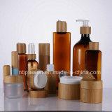 Série de bambu vaso loção boião de creme para embalagem de cosméticos (PPC-BS-074)