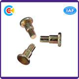 Dispositif de fixation de raccordement rond/pions de centrage opération principale de bouton pour l'industrie de machines