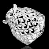 Hotsale creativo clássico da coruja de cobre da jóia dos anéis dos homens e das mulheres de Europa no anel popular de Shaple