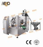 Puder-Verpackungsmaschine mit Stangenbohrer-Einfüllstutzen