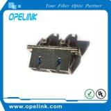 Duplex do adaptador da fibra óptica