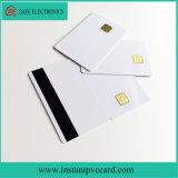 Duas faces Chip 4428 Imprimível Smart Card com tarja magnética