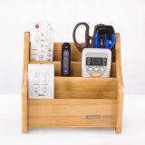 Sostenedor de múltiples funciones de madera del almacenaje del papel de escritorio