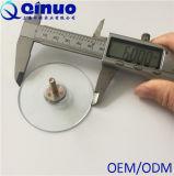 Cuvettes en plastique d'aspiration de vis de la coutume 60mm de Qinuo avec 6/21 diamètre