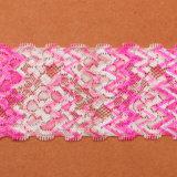 Tessuto lavorato a maglia merletto della guarnizione per il merletto di Printting 3D dell'indumento delle signore