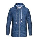 Vestuário para homem Fabricante China Drawstring Hood Long Sleeve Zip up Mens Hoodies