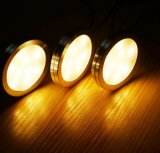 LED regulável sob luzes de gabinete com controle remoto de RF para iluminação de cozinha caseira