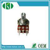 Potenziometro rotativo di precisione di Pin Wh148-1ak-2 5 con l'interruttore