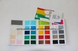高品質は折られた印刷のペンキカラーカードをカスタマイズした