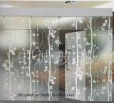Ausgeglichenes farbiges Glas mit umweltfreundlichem Silk Bildschirm-Drucken