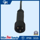 PVC IP67 de 3 bornes imperméabilisent le câble pour la DEL