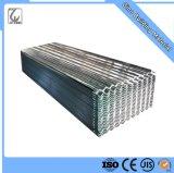 Revêtement de zinc Z70g Feuille de toiture en métal ondulé galvanisé