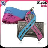 No MOQ Antique Nickle Bicycle Shape Custom Sports Medal Awards