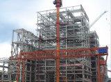 Almacén ligero prefabricado de la fábrica de la estructura de acero