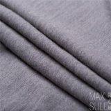 Tessuto delle lane della lavata 100% della macchina con buona elasticità per il Nightdress in grigio scuro
