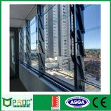 Glasig-glänzende Aluminiumglasluftschlitze aussondern