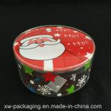 Напечатанная таможней коробка подарка цилиндра благосклонности пластичная