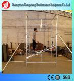 Bastidor H flexibilidad andamio de acero de equipos de construcción