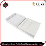 Подгонянная коробка подарка логоса конструкции бумажная упаковывая для электронных продуктов