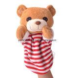 최고 귀여운 아이 소형 장난감 핑거에 의하여 채워지는 괴뢰 견면 벨벳