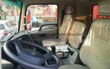 240HP Dongfeng 12cbm 쓰레기꾼 4X2 판매를 위한 트럭 12 톤 팁 주는 사람