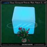 Banheiro de cubo de LED com mudança de cor impermeável em tamanho de 40cm