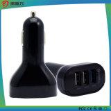 2 em 1 carregador material do carro de Poratable da liga de alumínio mini