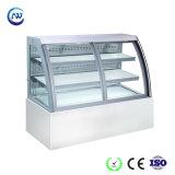 Le ventilateur de refroidissement du refroidisseur d'Showcase de pâtisserie boulangerie Gâteau au chocolat Réfrigérateur (KI750AF-M2)