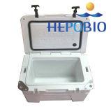 mini caixa branca moldada Roto do refrigerador do gelo da cor da parte alta do OEM 25L