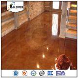 L'effet métallique de l'époxy de colorants de plancher