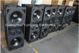 DJ Wholesales alimentados o 12 pulgadas de doble línea profesional de altavoces de matriz pasiva